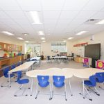 Classroom RHSD3 Cherry Park Elementary School of Language Immersion JM Cope Rock Hill South Carolina General Contractor Construction Program Management Manager CM At Risk Design Bid Build General Contracting CM Agency Commercial Education Interiors Faith Based Churches Historic Tax Credit Hospitality Industrial Manufacturing Interiors Medical Office Municipal